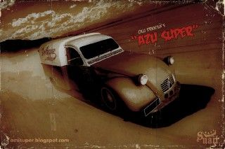 2cv AZU Poster Death Proof