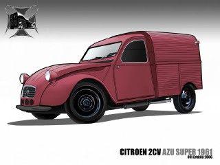 2cv AZU Super Toon