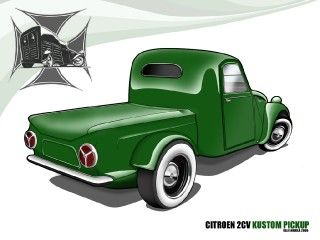 2cv Custom Pick-up