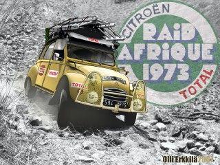 2cv Raid Afrique Toon