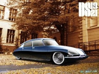 Citroën DS Mild Custom