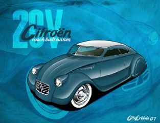 2cv Coachbuilt custom
