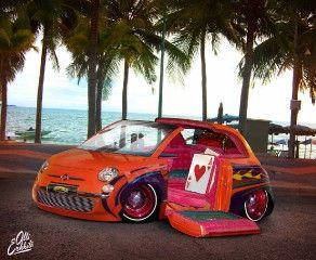 Fiat 500 Lowrider