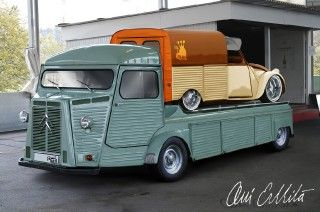 Citroën HY Carrier with AZU Lowrider