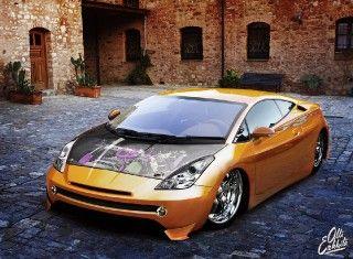 Toyota Celica goes  SEMA